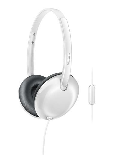 Philips SHL4405WT/00 Kafa Üstü Mikrofonlu Kulaklık Beyaz